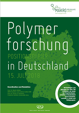 [Translate to English:] Polymerforschung in Deutschland - Positionspapier (15. Juli 2018)